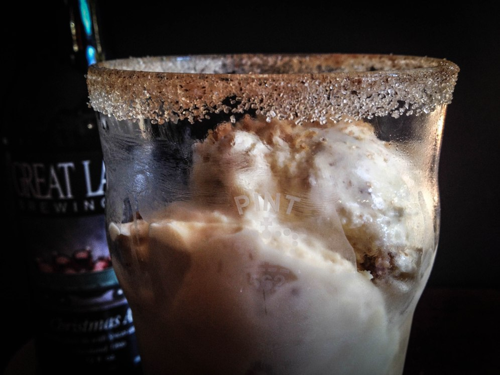 Great Lakes Christmas Ale Ice Cream