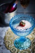 Strawberries & Champagne Ice Cream