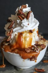 Caramel Apple Sundae