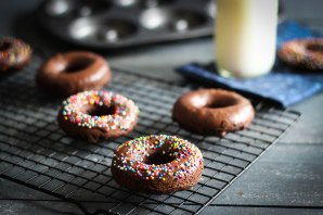 Triple Chocolate Donuts