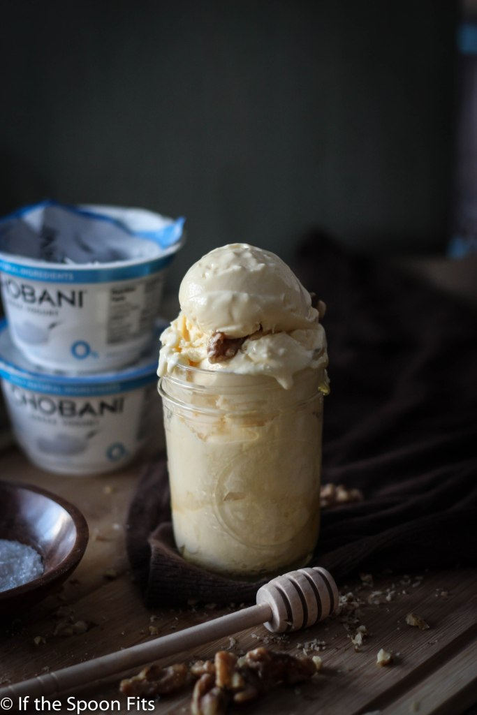 Salted Honey Fro Yo with Chobani