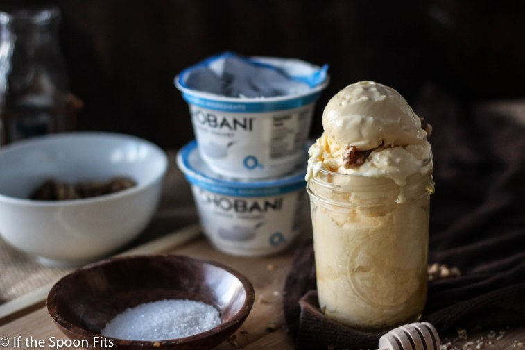 Salted Honey Fro Yo with Chobani