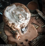 Spiked Frozen Hot Chocolate