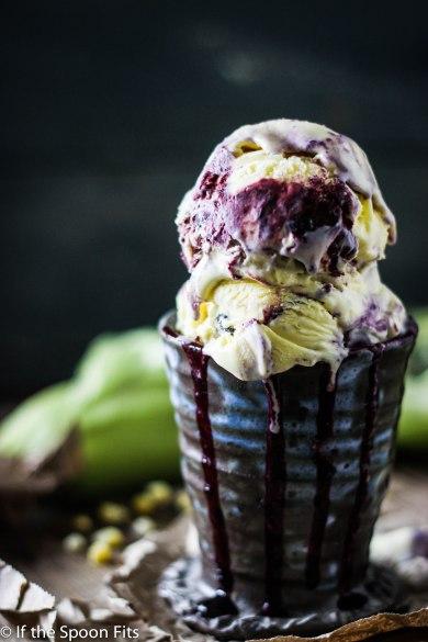 Roasted Sweet Corn & Blueberry