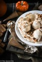 No Churn Pumpkin Cookie Butter Ice Cream