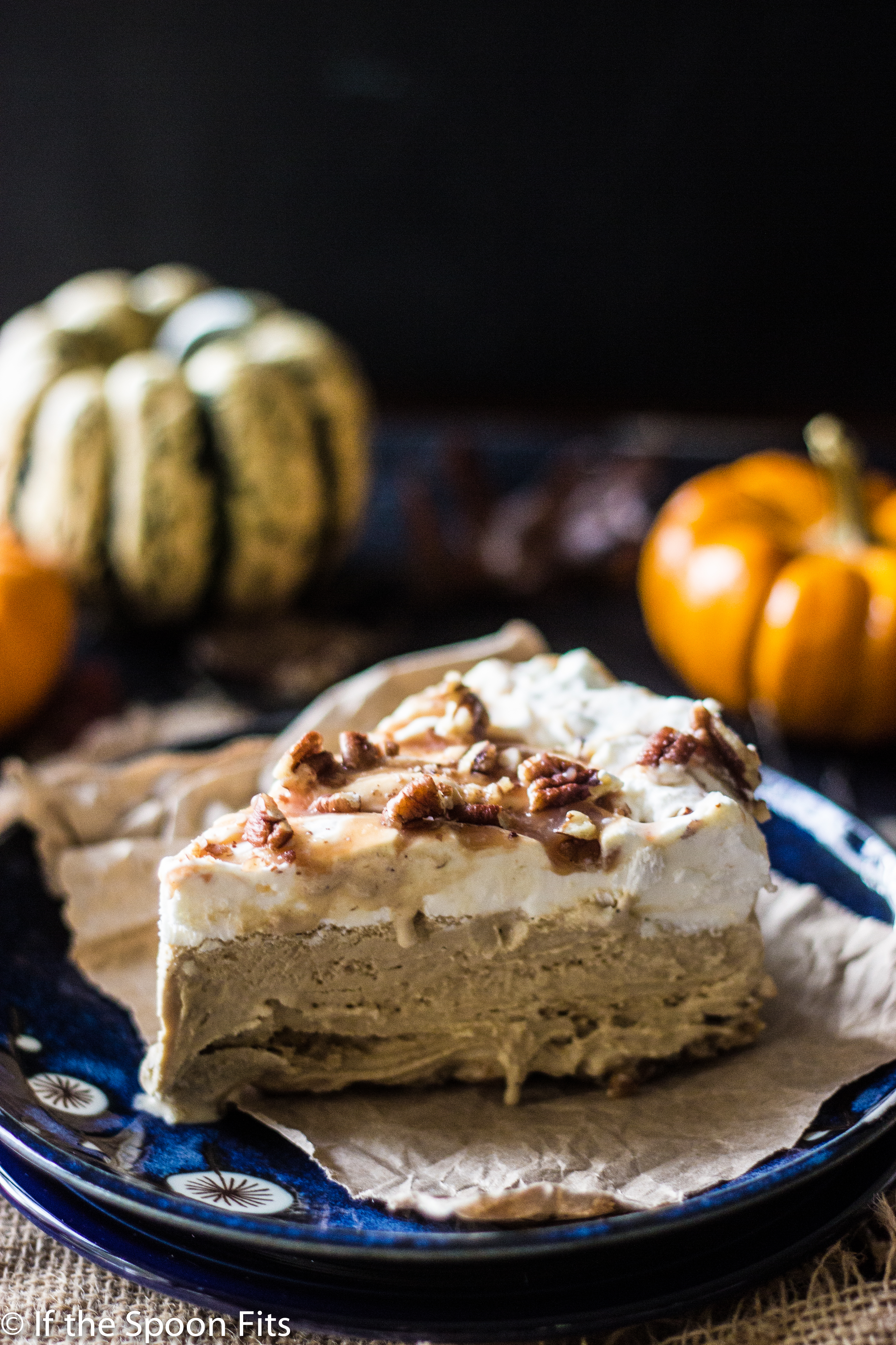February 2016 Recipes 2016 10 24 Pumpkin Pecan Ice Cream >> Pumpkin Pecan Ice Cream Pie With Salted Bourbon Caramel If The